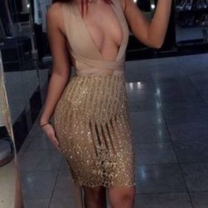 My Provocateur Dress - Gold / S